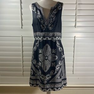 Like New White House Black Market Silk Dress